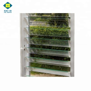 Hot-sale High quality Louvre Window Aluminum Jalousie Window louvres Prices