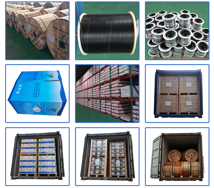 OUTDOOR FLAT DROP CABLE fiber optic cable