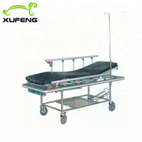 Medical ambulance used patient transfer emergency stretcher
