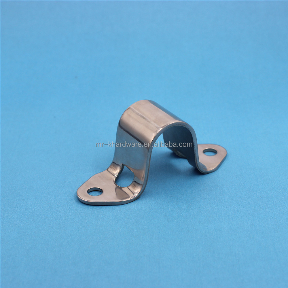 Heavy Duty Reinforce Stainless Steel Saddle Clamp