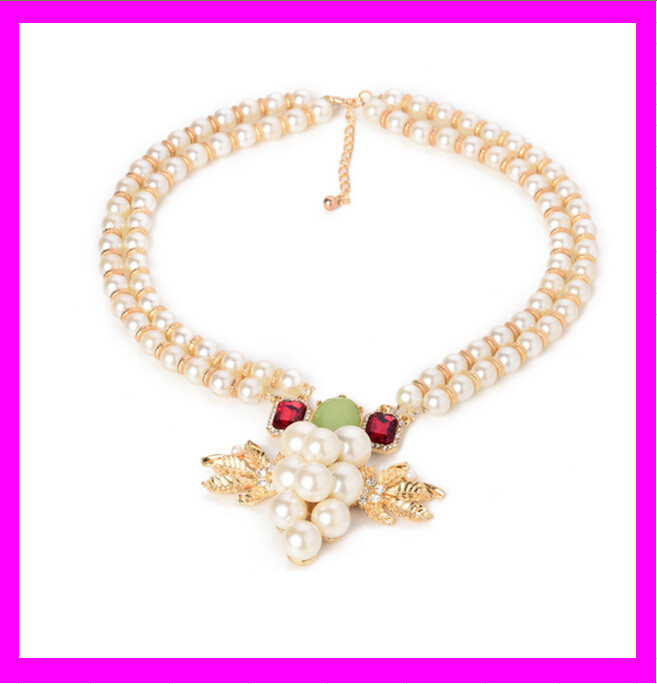 KD2056 Pearl Necklace Designs,Popular Chunky Necklace,Baroque Pearl Necklace