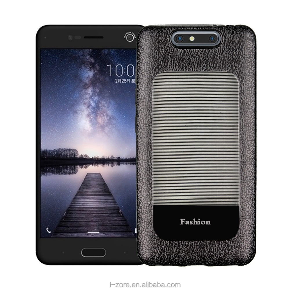 Luxurious TPU Leather Design Phone Case for ZTE Blade V8 Ultra Slim Cover