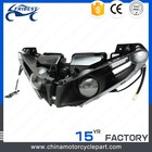 motorcycle bullet led headlight, motorcycle headlight grill, motorcycle head light