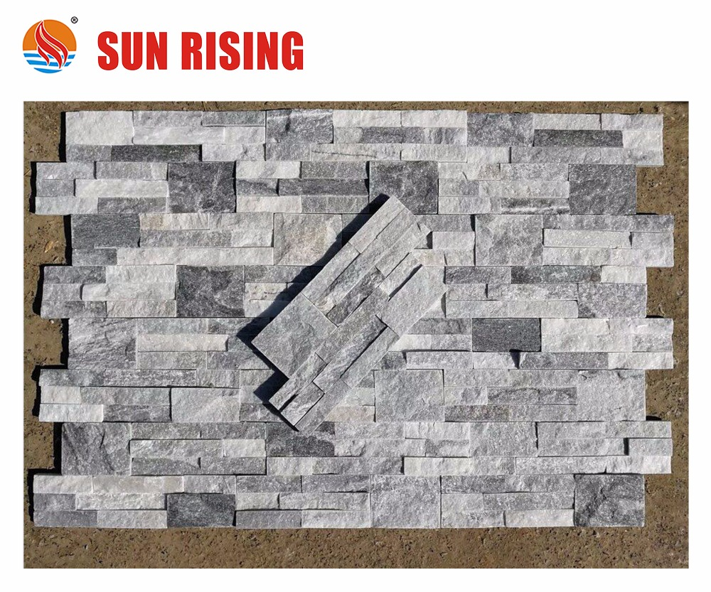 Grey Ledge Cultured Stone Outdoor Wall Panel