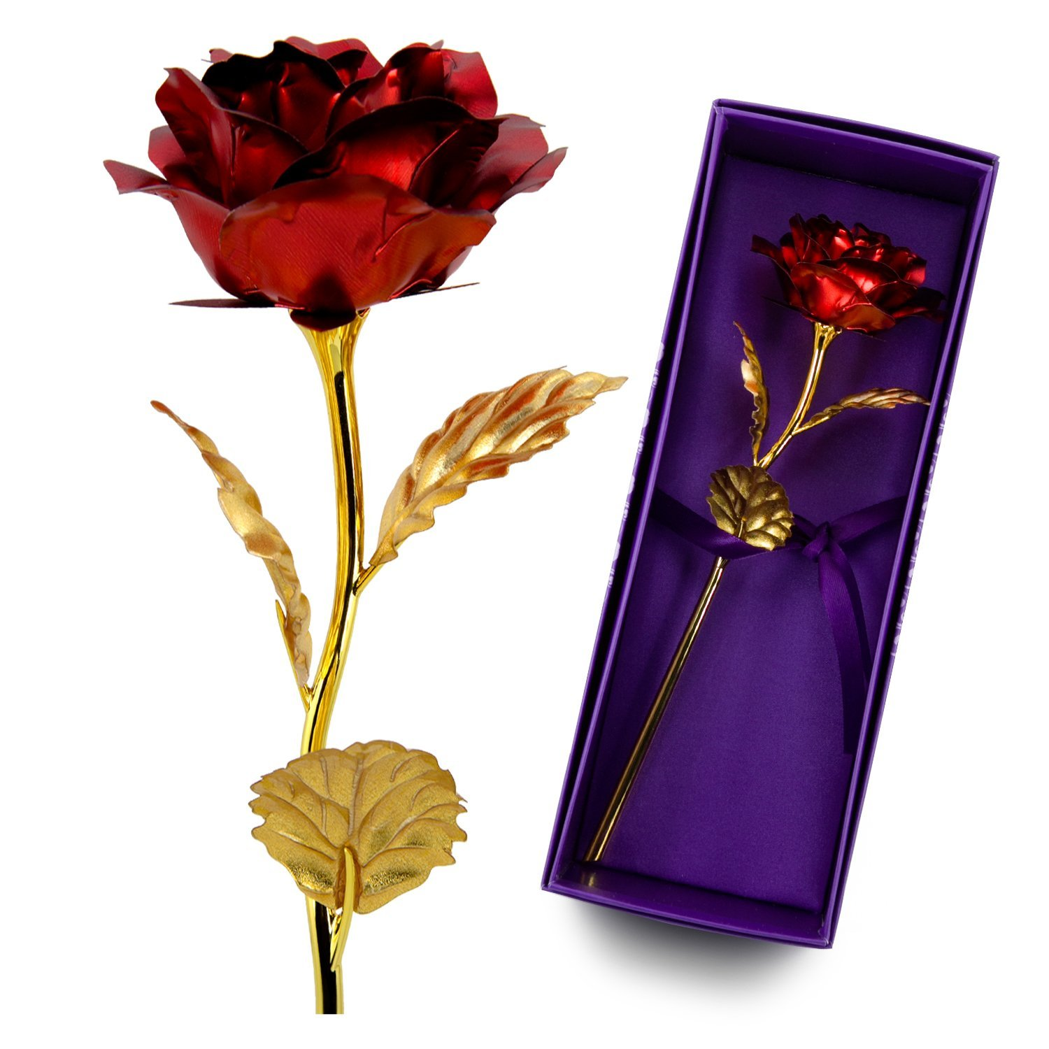 China Artificial Gold Roses China Artificial Gold Roses