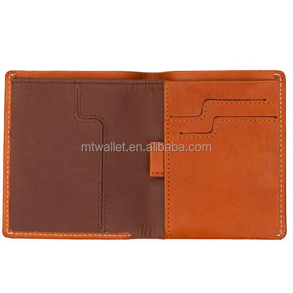 2015 hot sale RFID blocking Men's slim thin genuine leather wallet