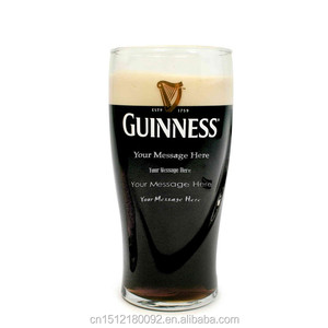 Wholesale customized beer glass /Guinness Engraved Personalized Gravity Pint Beer Glass 20 oz