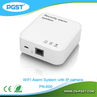 Factory directly offer WIFI home alarm system wireless connect with sensors