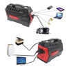 Multi-function solar storage 88000 mah portable power station 1500W with AC output