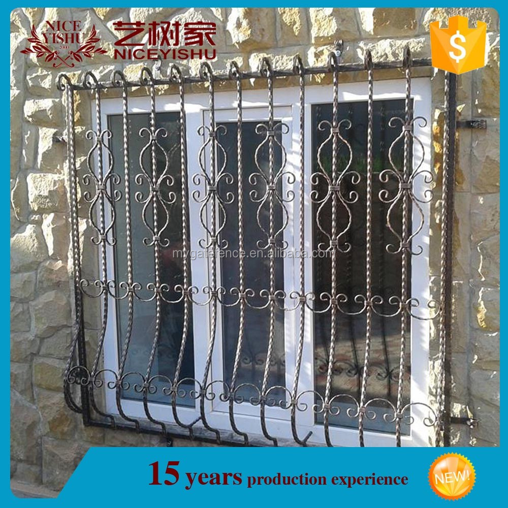 Wrought Iron Window Grills Grill Design 1
