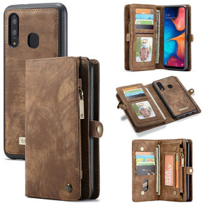 Free Shipping Anti-Slip Wallet Leather Phone Case for Samsung Galaxy A20 A30 A40 A50 Card Slots for iPhone 11 Leather Phone Case