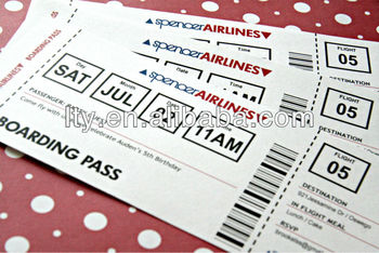 ticket paper with tear line m pt240