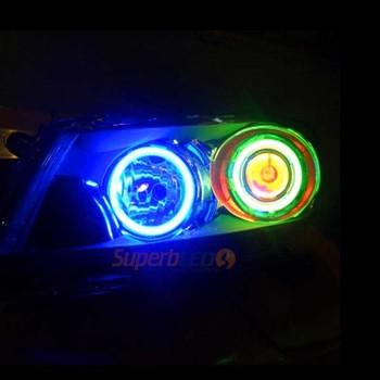 Car Accessory Ccfl Angel Eye 12 Volt Car Headlight Ccfl Led Lamp ...
