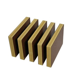 Waterproof external wall cladding Wood WPC pvc wall panels designs Sheet