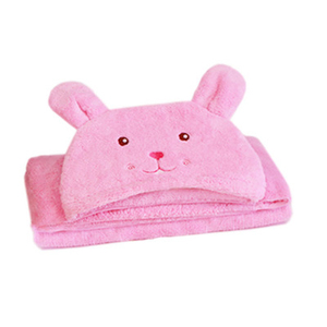 SZPLH Hot sale cute chicken cotton baby towel hooded bath towel for baby