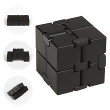 Fidget Cube in Style With Infinity Cube Pressure Reduction Toy - Infinity Turn Spin Cube Edc Fidgeting - Killing Time Toys