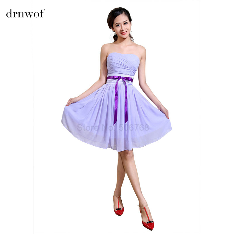 Cheap Purple Bridesmaid Dresses Under 50