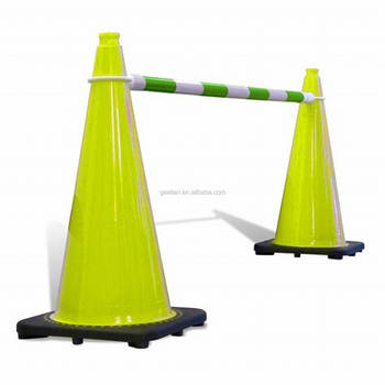 Used Plastic Barrier And Traffic Cone For Rental