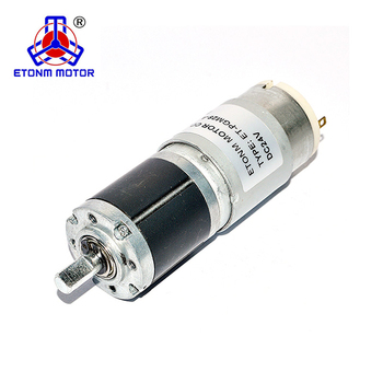 small diameter dc planetary gear motor low noise for electric curtain