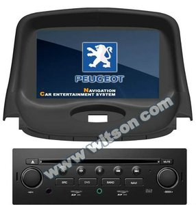 WITSON car monitor with gps for PEUGEOT 206 with Dual Zone Function
