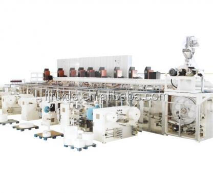 factory of Waist Band Baby Diaper Production Line machinery