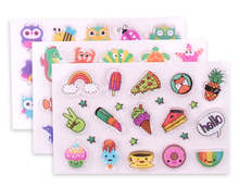 INTERWELL CMY112 Fashion Chinese Kids TPR Stamp Set