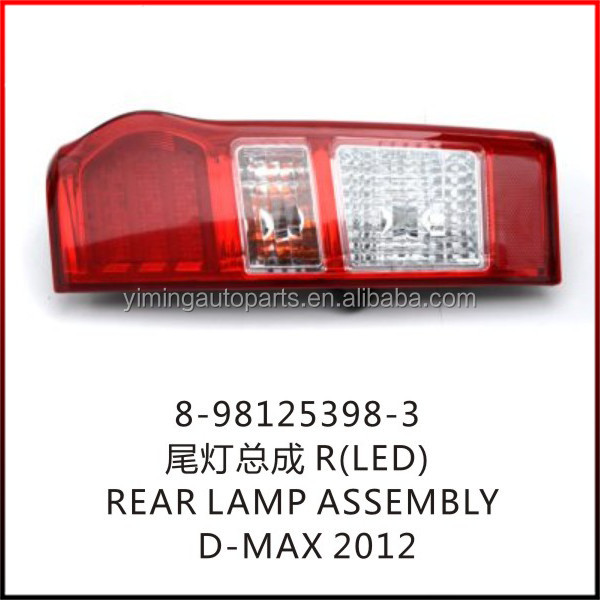 8-98125398-3 D-max 2012 Rear Lamp Led Right