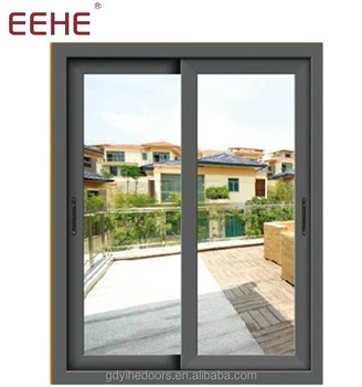 Modern aluminum sliding curved window