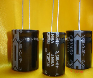 6.8uf 400v non polar electrolytic capacitor price good quality