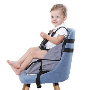 Eating chair for kid baby dining chair bag portable safety fabric feeding chair fabric