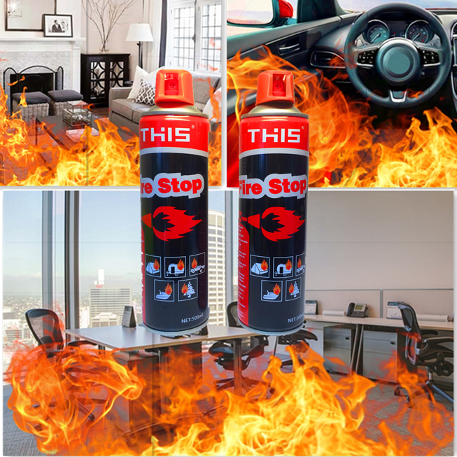 comma THIS/F1 500ml auto mini foam fire extinguisher