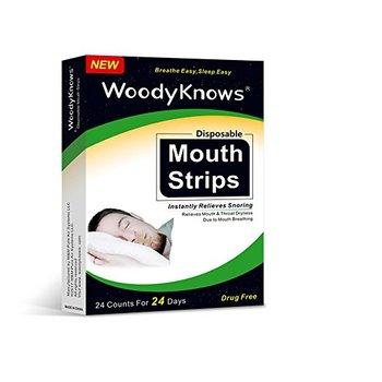 Breathe right throat strips