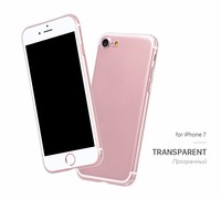 Alibaba Hot New Product For iPhone 7 Case, Ultra Thin Clear Crystal Transparent TPU Case Cover For iPhone7