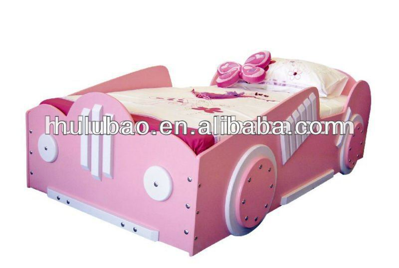 Girls Lovely Car Bed/cinderella Princess Bed/baby Bed