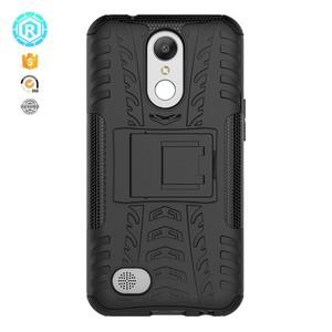 factory price flip cover case for LG K10 2017 light up case for LG K10 2017