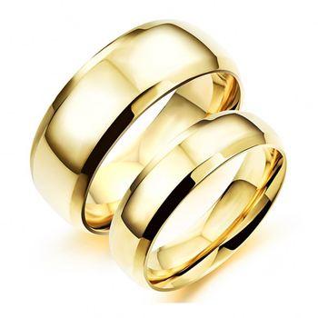 Custom Engraved Jewelry Fashion Silver Gold Wedding Ring