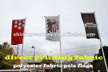 polyester fabric pole flags