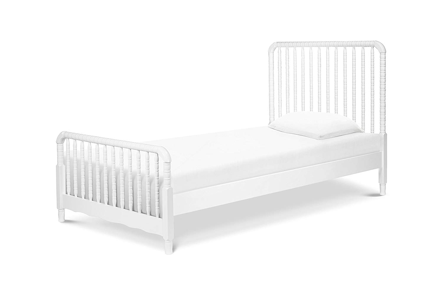 b0ead7441559 Get Quotations · DaVinci Jenny Lind Twin Bed with Wood Spindle Posts
