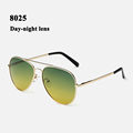 Night vision glasses men brand designer 2016 polarized sunglasses women metal spring hinge gafas de sol