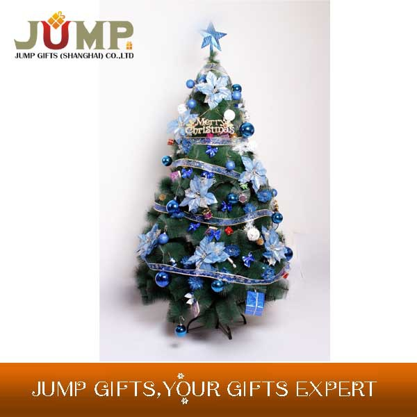 Best selling Christmas tree,hot selling wholesale decoration xmas tree with ribbons