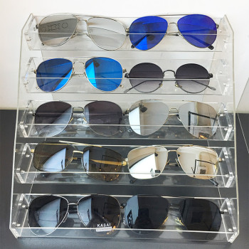 Attirant Acrylic Eyewear Display Storage Eyeglass Display Ideas