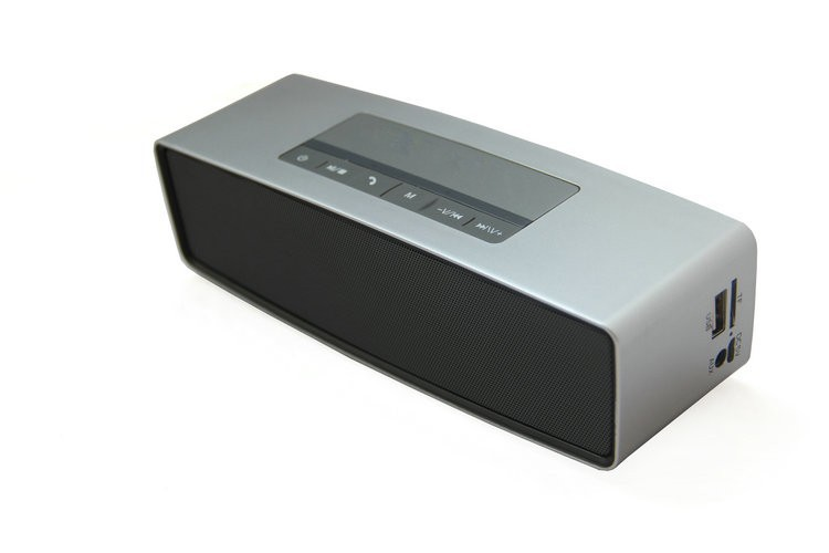 wirelesss mini HIFI High-end Luxury Wireless Bluetooth 3D Sound Multifunction Stereo speaker With FM Radio Support SD Card