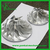 Stainless steel vacuum cleaner impeller, high precision water pump spare parts, customized impeller