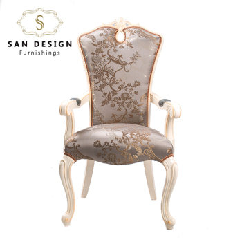Genial Royal Hand Carved Baroque Antique White King Throne Living Room Chair