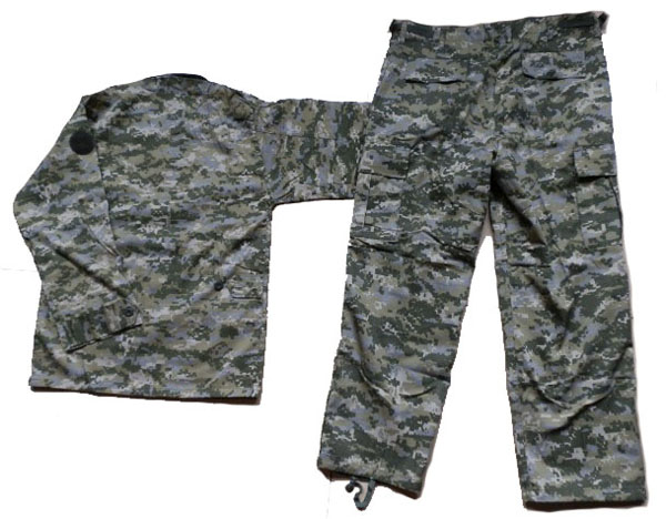 US custom camouflage military uniforms Combat camouflage uniform military dress cloth