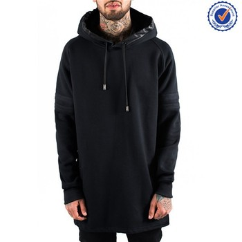 Best Quality Fashion Big And Tall Hoodies Blank Elongated Hoodies Extended Hoodies Buy