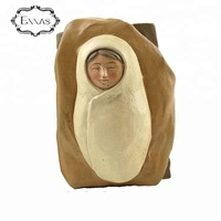 Resin Religious Nativity Jesus Sleeping Baby Figurines for decoration