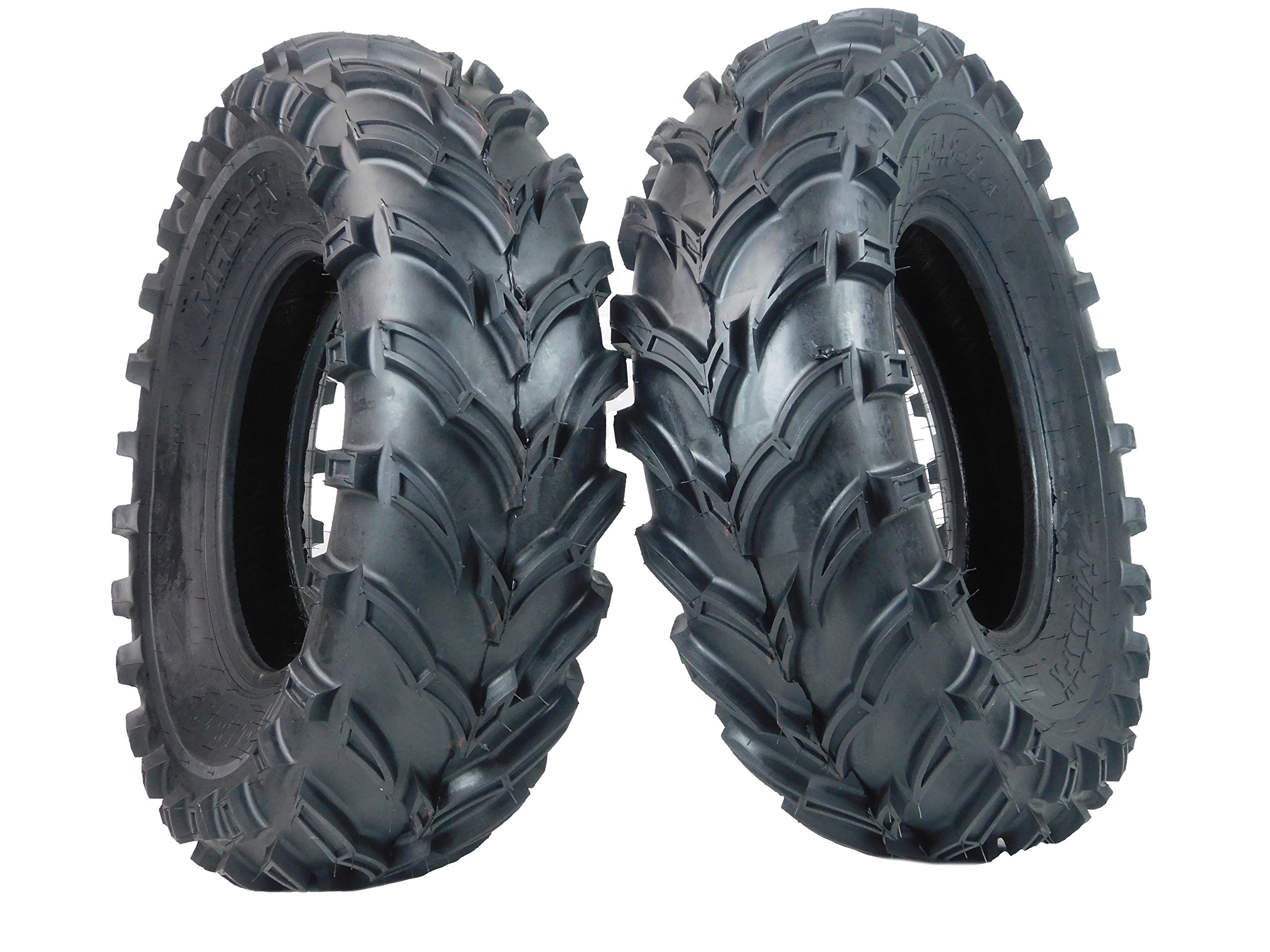 One Pair of MassFx P377 ATV/UTV Front Tires 25x8-12 Front Set of 2 25x8x12