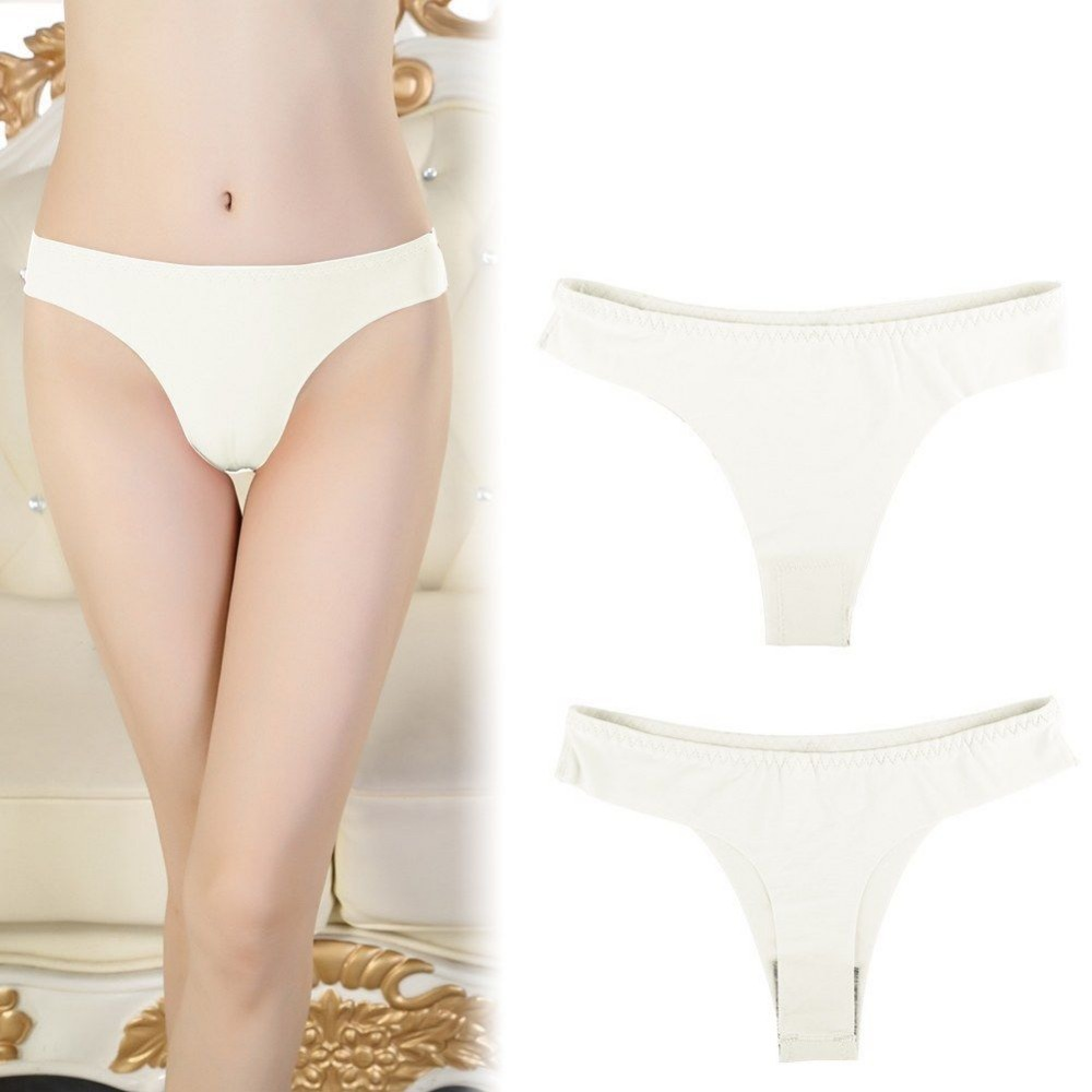 Women Panties Seamless A Female T Pants Low Waist Invisible Underwear Summer Ladies Simple G-String Sexy Briefs