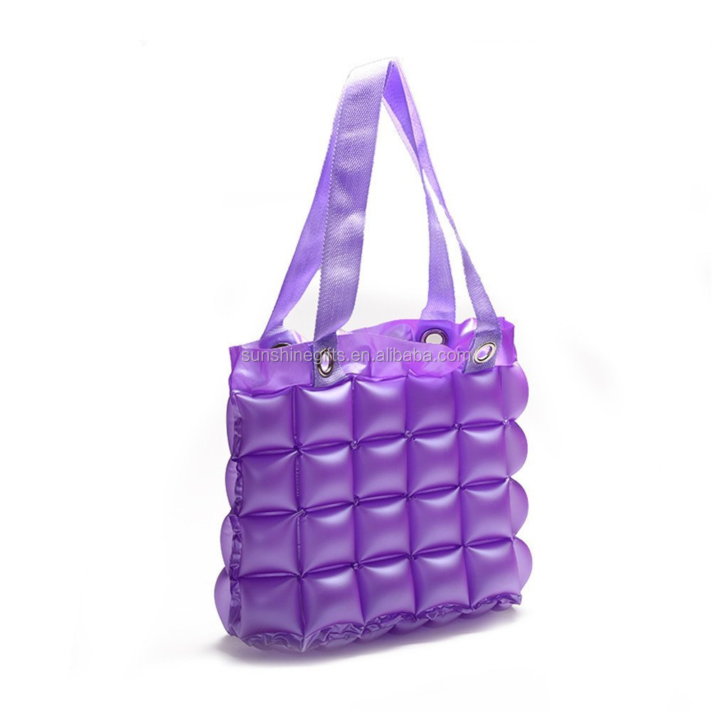 Factory Outlets Women Shiny PVC Tote Bag